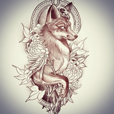 Bestetatoeage Tattoomodellen In 2020 Animal Tattoos Fox Tattoo Design Traditional Tattoo
