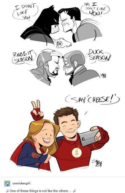 Superflash Fanfiction They Get Along Flash Crossover Supergirl Crossover Supergirl And Flash
