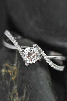 34a3d7a0f People also love these ideas. Emerald Cut diamond Halo Engagement Rings ...