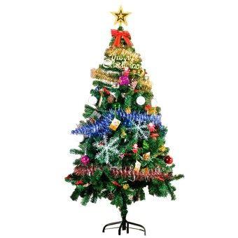 Price 1 8m Christmas Tree With Led Lightings Xmas Decorativeset 80pcs Item Is Really Good 1 8m Christmas Tree Wi Christmas Tree Holiday Decor Furniture Decor