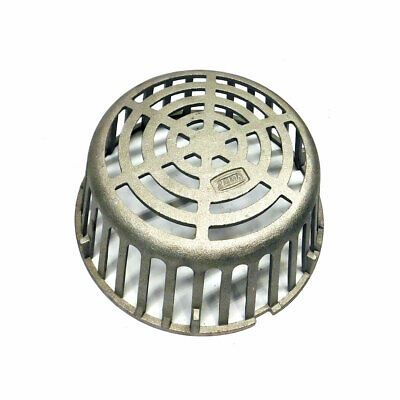 Details About Zurn Zw 01 07 16 Silver Universal Roof Drain Dome 10 125 Dura Coated For Z100 With Images Roof Drain Steel