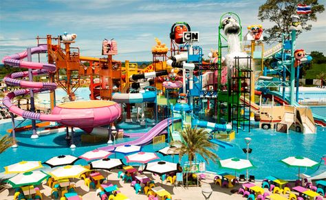 New water theme park includes stunning themed Polin waterslides