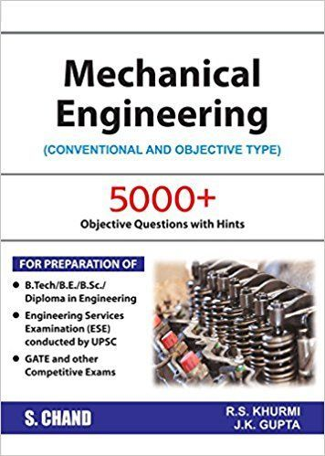 Mechanical Engineering By Rs Khurmi And Jk Gupta Pdf Conventional And Obj Mechanical Engineering Mechanical Engineering Design Mechanical Engineering Projects