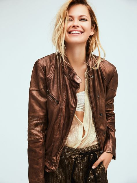 Fitted And Rugged Leather Jacket With Images Leather Jacket Rugged Leather