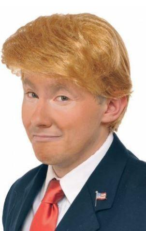 The Billionaire Wig Costume Accessory