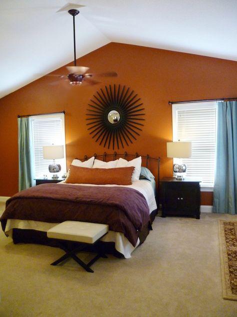 18 Decorating With Orange And Purple Sunset Inspired Ideas Orange And Purple Orange Decor Interior Design