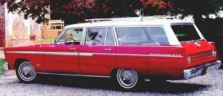 1965 Ford Fairlane 500 Station Wagon Classic American Ford Cars
