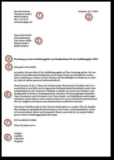 Bewerbung Bewerbung Deutsch Lernen Deutsch Schreiben Brief Deutsch