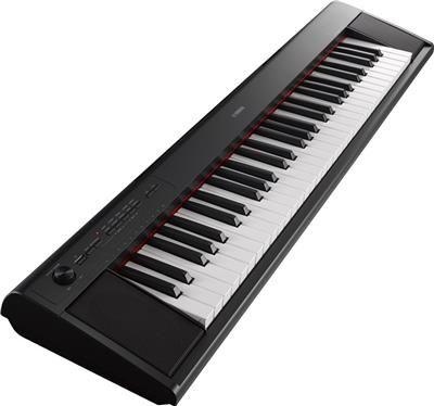 Yamaha Piaggero Np12b Kit Ultra Portabale Digital Piano With Sk B2 Survival Kit 61 Key Black Digital Piano Yamaha Keyboard Piano