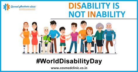 They are Different but not Less ! #WorldDisabilityDay  #CosmedClinic #Disbaled #Handicap #Diffrerentlyabled #Specials #worlddifferentlyabledday #differentlytalented #positiveattitude #inspiration #awareness #miraroad #bhayander #thane #mumbai