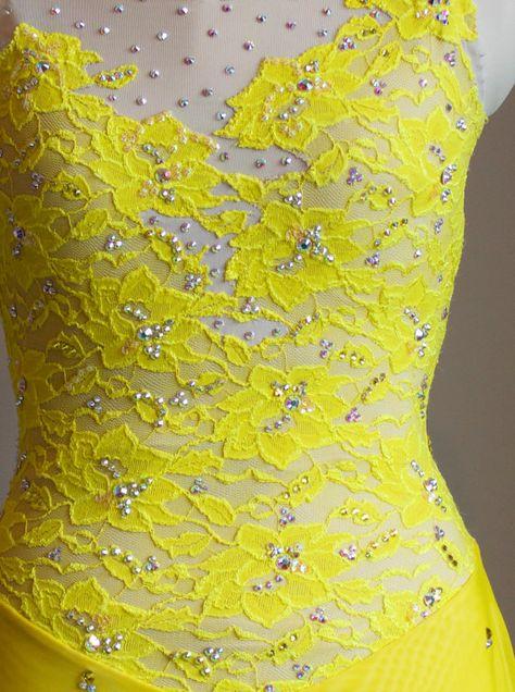 Glace danse Dress concurrence Foxtrot Dress Waltz robe robe de bal