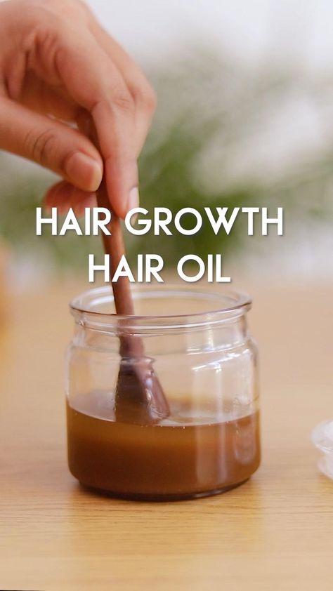 HAIR GROWTH OIL RECIPE