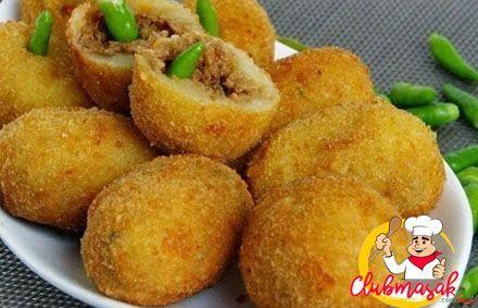 Resep Camilan Combro Kentang Makanan Sehat Untuk Diet Club Masak Kroket Makanan Resep