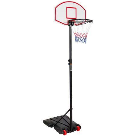 Best Choice Products Portable Kids Junior Height Adjustable 28 Basketball Hoop Stand Backboard System W Wheels Walmart Com Portable Basketball Hoop Basketball Hoop Adjustable Basketball Hoop