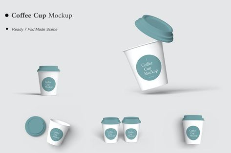 Coffee Cup Mockup by AuthenticMockup on Envato Elements