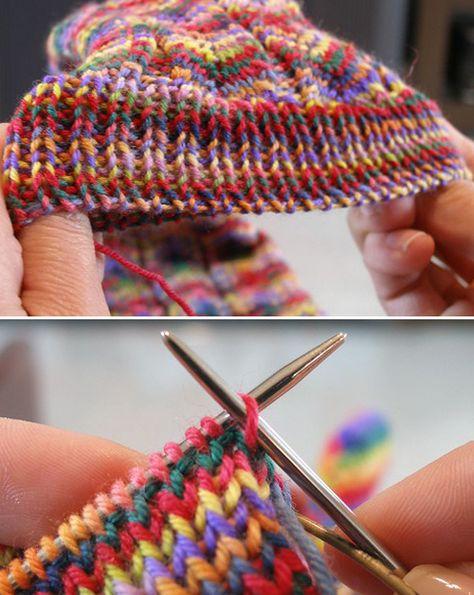 Knitting Help, Knitting Stiches, Knitting Socks, Knitting Patterns Free, Knit Patterns, Crochet Stitches, Crochet Cross, Knit Crochet, Ravelry