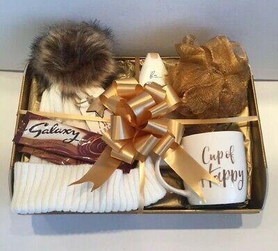 Valentine Birthday Gift Basket Hamper for Her Ladies Gift Idea Mum Sister Wife