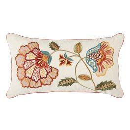 Fall Jacobean 12x22 Multi Throw Pillows Christmas Oblong Throw Pillow Christmas Tree Shop