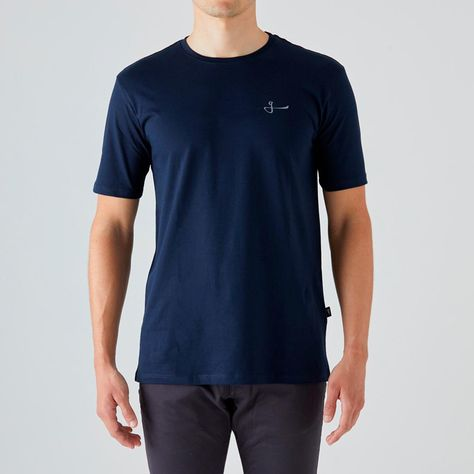 Givelo Mens Navy 100% Peruvian Cotton Tee - XS / Don't Settle
