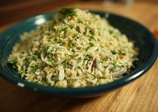 Resepi Nasi Ulam Resepi Nyonya Resepi Miker Herb Rice Recipe Rice Herbed Rice
