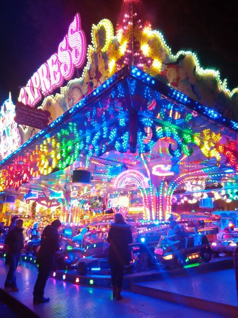 At the carnival Circus Aesthetic, Rainbow Aesthetic, Neon Aesthetic, Aesthetic Collage, Summer Aesthetic, Aesthetic Photo, Aesthetic Pictures, Bedroom Wall Collage, Photo Wall Collage