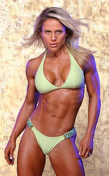 Fitness Competitor - Monica Brant  #fitness