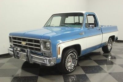 1979 Chevrolet C10 Silverado Pickup Truck Old Trucks For Sale Vintage Classic And Old Trucks Oldtr Custom Chevy Trucks Old Trucks For Sale Pickup Trucks