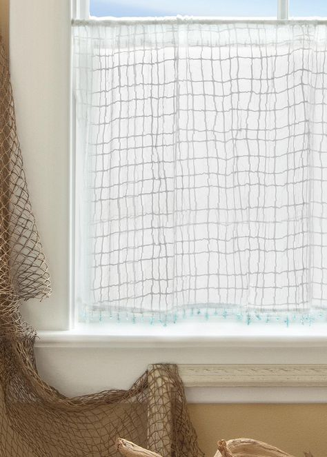 Our New Seacoast Curtains Are The Perfect Touch In Your Beach Home