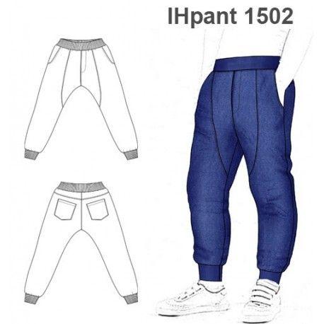 Patrones Pantalon Babucha Nino 1502 Functional Clothing Pants Pattern Mens Sewing Patterns
