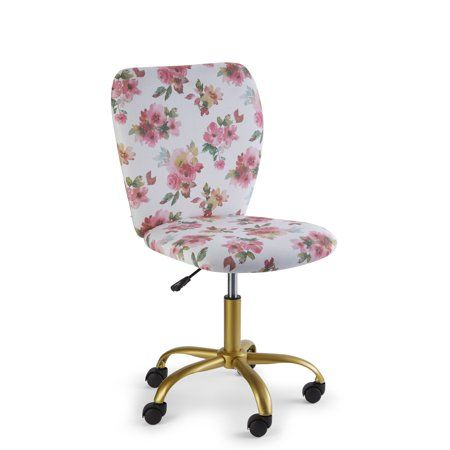 Mainstays Katie Office Rolling Chair Multiple Colors Walmart Com Rolling Chair Office Chair Swivel Office Chair