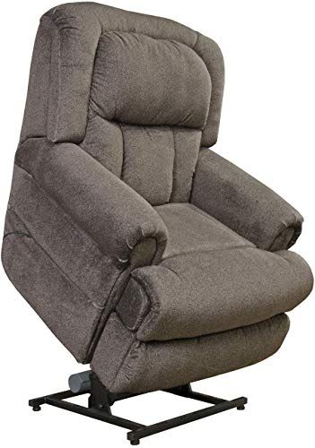 Amazing Offer On 4847 Ash Catnapper Burns Power Lift Recliner Chair Rated 400 Lbs 76 Ext Length Duo Motor Lift Chair Controls Back Ottoman Separately Lay Flat Recliner Free Curbside Delivery Online In