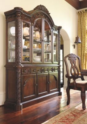 North Shore Buffet And China Dark Brown Dining Room Server