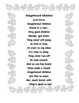 Winter Holiday Poetry Collection Kindergarten Poems Poems
