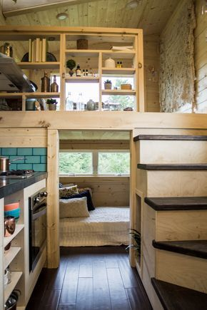 The 20ft Vantage Tiny House By Tiny Heirloom Tiny House Bedroom Tiny House Interior Design Tiny House Interior