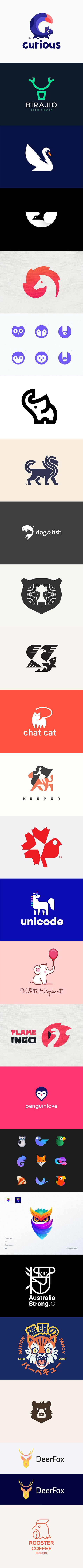 25 Fantastic Collections of Animal Logos 2020