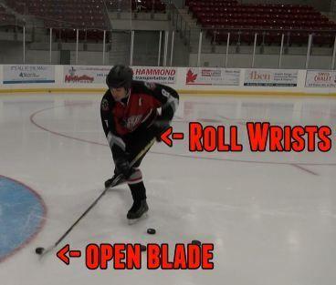 How To Lift The Backhand Backhand Challenge Hockey Training Field Hockey Drills Ice Hockey