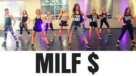 MILF $ By Fergie.  SHiNE DANCE FITNESS