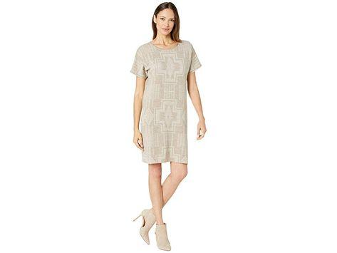 Pendleton Harding Sweater Dress Women's Dress Taupe