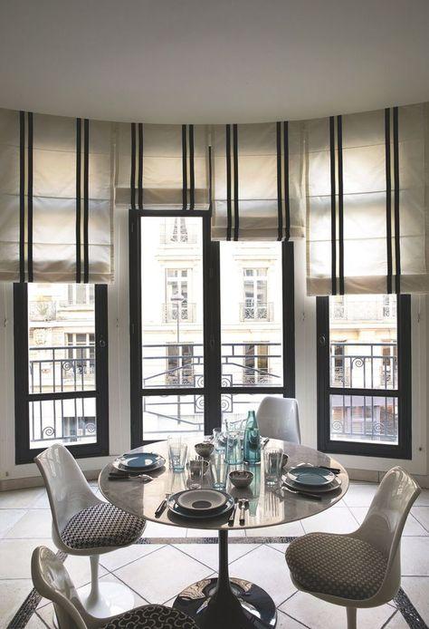 Les Stores Bateaux Apportent De La Verticalite Et De L Elegance