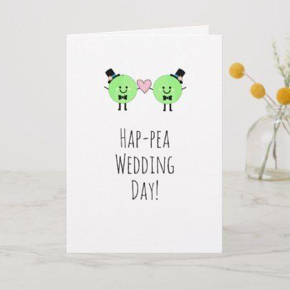Pig Wedding Day Customised Card