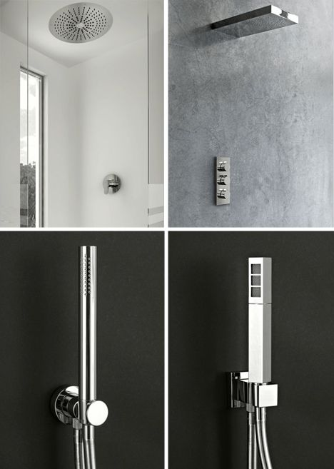 modern shower heads | Other ceiling-mounted showers and mobile ...
