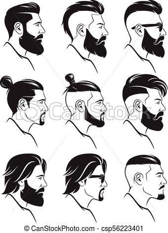 Resultat De Recherche D Images Pour Haircut Drawings Side View Face Drawing Side Face Drawing Drawings