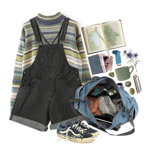 A fashion look from February 2016 featuring Vans sneakers. Browse and shop related looks. Vintage Outfits, Retro Outfits, Casual Outfits, Fashion Outfits, Grunge Outfits, Japanese Minimalist Fashion, Look Girl, Mein Style, Mode Streetwear