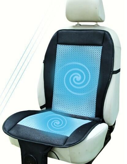 Summer Cool Cooling Car Seat Cushion Cover Ventilation Fan Air Conditioning General Passat The Family