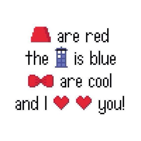 Doctor Who poem. Cross stitch! Gotta make this for my study.