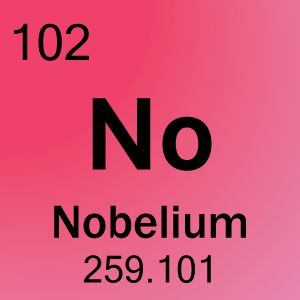 The symbol for nobelium is the word no word list from periodic the symbol for nobelium is the word no word list from periodic table periodic table awesomeness pinterest urtaz Choice Image