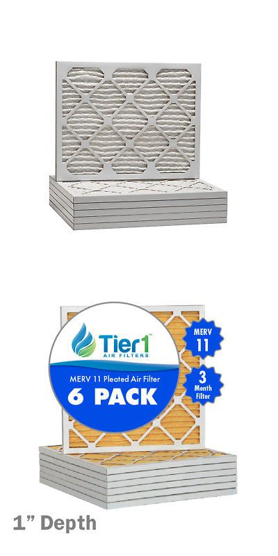 6 Pack NEW 14x18x1 Dust and Pollen Merv 8 Replacement AC Furnace Air Filter