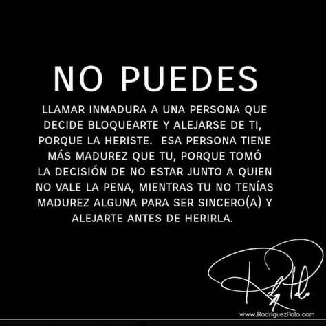 #bloqueo #bloquear #madurez #frases #frasesparalavida