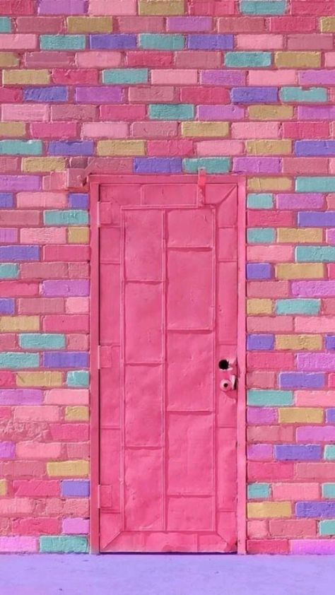 Everything Pink, Doorway, Pink Aesthetic, Windows And Doors, Front Doors, Wall Collage, Decoration, Decor Diy, Color Inspiration