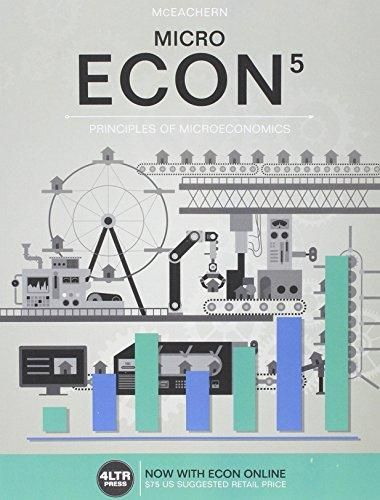 Solution Manual For Econ Micro 5th Edition William A Mceachern Students Manuals Digital Textbooks Economics Textbook Test Bank